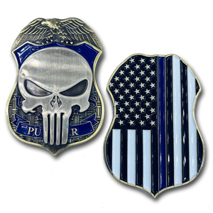 HSI ICE FAM Special Agent Officer Federal Punisher DHS Challenge Coin