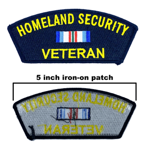 CC-007 Homeland Security Veteran Patch CBP TSA USCG USSS FEMA CIS FAM ICE HSI OIG FLETC