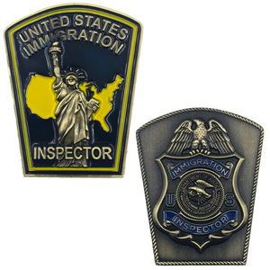 Immigration Inspector Legacy INS Challenge Coin