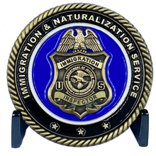 DL2-15 Immigration and Naturalization Service INS & Legacy DOJ Challenge Coin Inspector not CBP