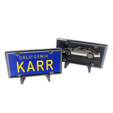 KARR License Plate Challenge Coin Medallion (not Knight Rider)