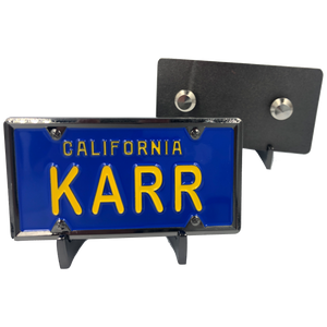 KARR License Plate pin (not Knight Rider KITT)