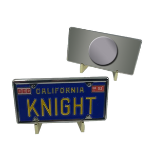Magnet Knight Rider KITT License Plate