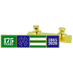 DL8-17 NYPD 175th Anniversary commendation bar pin New York Police Department