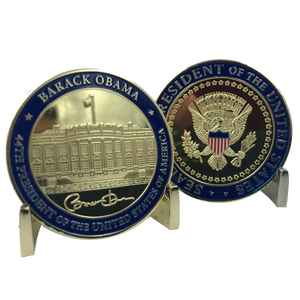 44th President Barack Obama Challenge Coin White House POTUS