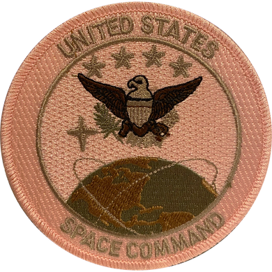 DL1-11 United States Space Command Pink Patch U.S. Space Force Breast Cancer Awareness