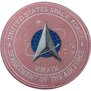 CL4-07 Pink breast Cancer Awareness United States Space Force Patch U.S. Department of the Air Force MMXIX