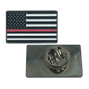 PINK Line Flag Pin: Breast Cancer Awareness