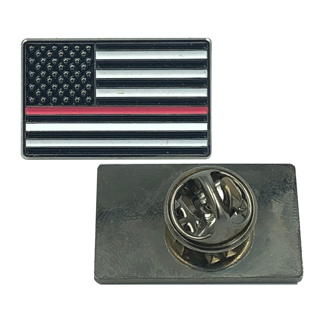 PINK Line Flag Pin: Breast Cancer Awareness Police Uniform Thin Pink Line
