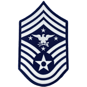 DL5-06 Senior Enlisted Advisor to the Chairman of the Joint Chiefs of Staff Air Force Senior Enlisted Advisor Chief Master Sergeant Rank (Eagle Looking Right) USAF Patch