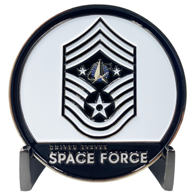 CL7-14 CHIEF MASTER SERGEANT ROGER A. TOWBERMAN. Chief Master Sergeant Roger A. Towberman Space Force Command Senior Enlisted Leader Challenge Coin Trump