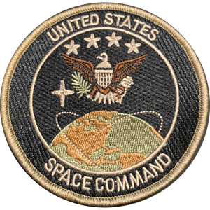 CL-018 United States Space Command Patch U.S. Space Force