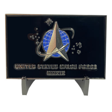 CL10-02 Space Force Space Command USAF Flag Challenge Coin Air Force