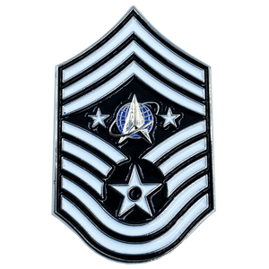 CL7-10 United States Space Force Pin U.S. Department of the Air Force Senior Enlisted Advisor Chief Master Sergeant Rank