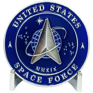 EL3-014 Space Force Challenge Coin United States Air Force USAF MMXIX US Space Force