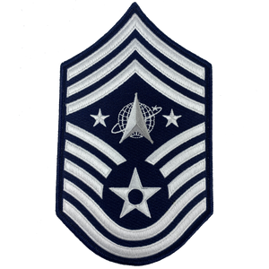 CL4-05 United States Space Force Patch U.S. Department of the Air Force Senior Enlisted Advisor Chief Master Sergeant Rank
