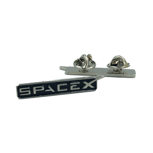 M-16 SpaceX pin Space X dual pin back lapel pin