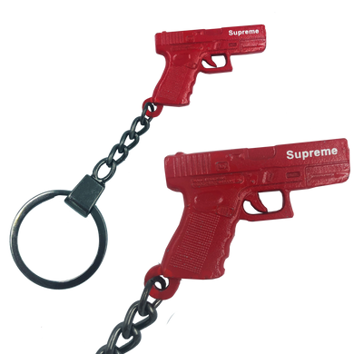 Firearms Instructor Glock inspired gun keychain Supreme