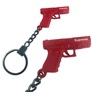 DD-014 Firearms Instructor gun keychain Supreme