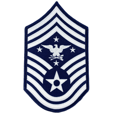 DL1-14 Senior Enlisted Advisor to the Chairman of the Joint Chiefs of Staff Air Force Senior Enlisted Advisor Chief Master Sergeant Rank (Eagle Looking Left) USAF Patch