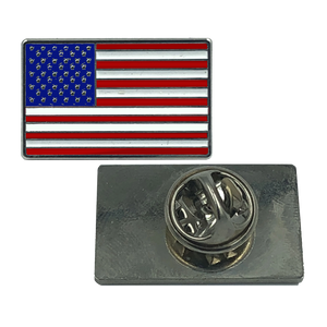 American Flag Lapel Pin, U.S. Stars are Stripes, Old Glory
