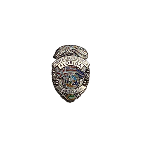BB-007 University of Florida Gators Police Lapel Pin