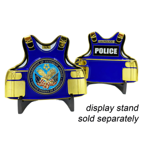 K-023 VA Police Body Armor Challenge Coin Veterans Affairs Medallion