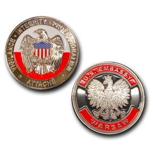 A-003 Warsaw Poland Embassy Attache CBP