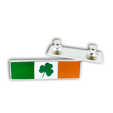 CL-001 Shamrock Commendation Bar Pin Fire Fighter, Police, Emerald Society, Police, Irish, St. Patricks Day