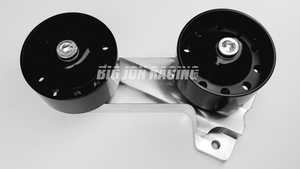 Big Jon Racing Hellcat Dual Idler Pulley Kit for Magnuson TVS2650 Hellcat Superchargers