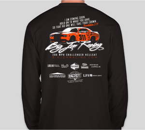 200 MPH Long Sleeve Shirt - Adult