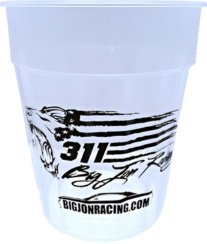 Big Jon Racing™ 24oz Fluted Jewel Stadium Cups