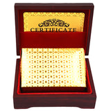 Gold Foil Playing Cards w/ Box