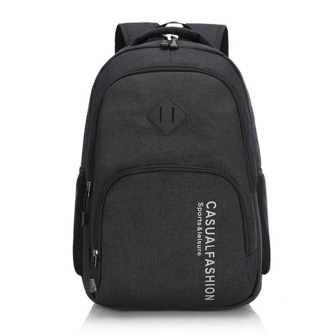 Male Canvas Laptop Backpack