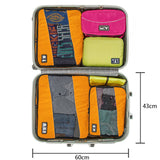 BAGSMART Travel Packing Cube (Variety Pack: 3 Sizes)