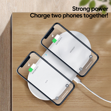 Charger l'image dans la galerie, Joyroom - 2 in 1 Fast Charging Wireless Charger - Modern Idea