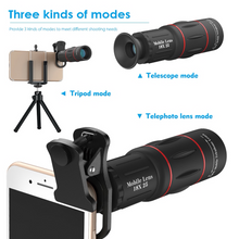 Load image into Gallery viewer, Apexel - 18X Telephoto Smartphone Zoom Lens and Tripod - Modern Idea