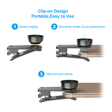 Load image into Gallery viewer, Apexel - 6 in 1 Smartphone HD Lens Filter Kit - Modern Idea
