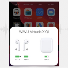 Load image into Gallery viewer, Wiwu - Bluetooth 5.0 Airbuds XQI with Wireless Charging Case - Modern Idea