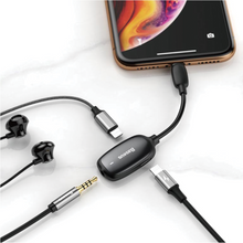 Load image into Gallery viewer, Baseus - 3 in 1 Iphone Charge & Audio Adapter - Modern Idea