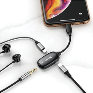 Baseus - 3 in 1 Iphone Charge & Audio Adapter - Modern Idea