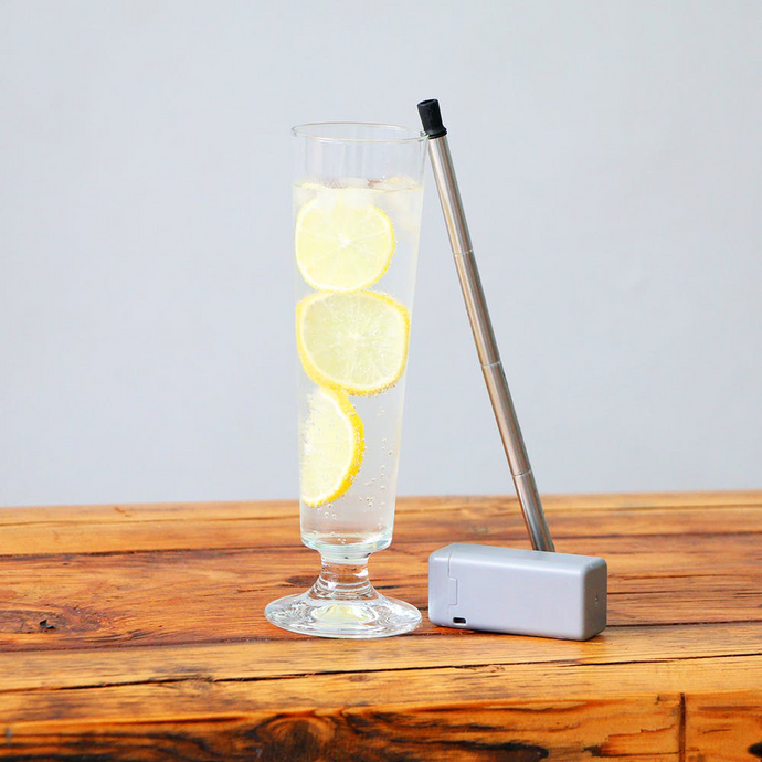 Re-usable and Washable Collapsible Metal Straw - Modern Idea