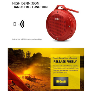 MIFA- F10 Waterproof Bluetooth Speaker - Modern Idea