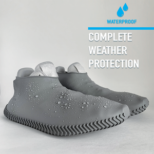 Rubbers - Waterproof Silicone Shoe Covers - White Frost - Modern Idea