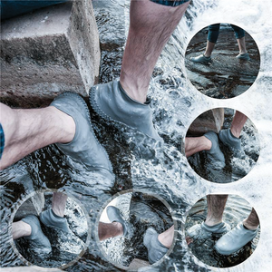 Rubbers - Waterproof Silicone Shoe Covers - Grey Matter - Modern Idea