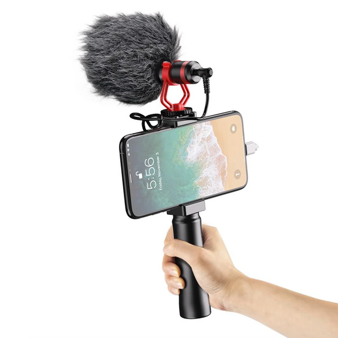 Apexel- Video Blog Microphone for Smartphone and Camera - Modern Idea