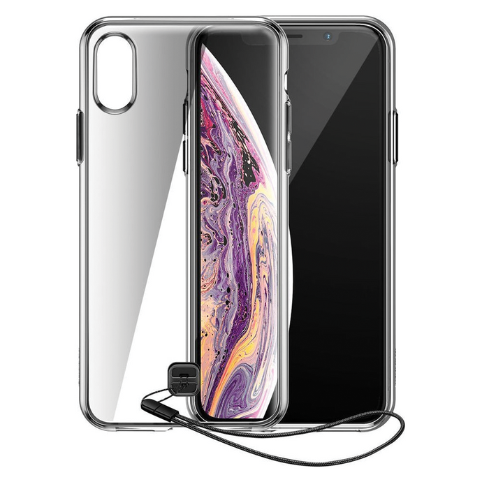 Baseus- TPU Airbag Phone Case with Strap for Iphone X/XS - Modern Idea