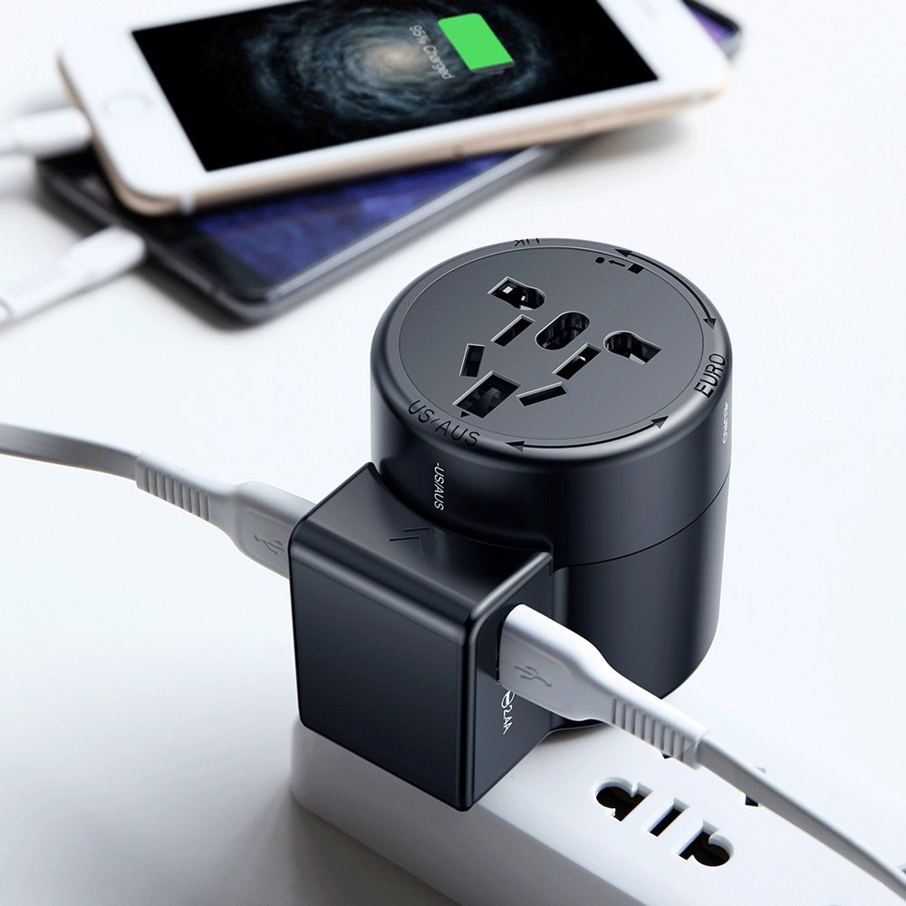 Baseus - Rotation Style Universal Adapter & Charger - Modern Idea