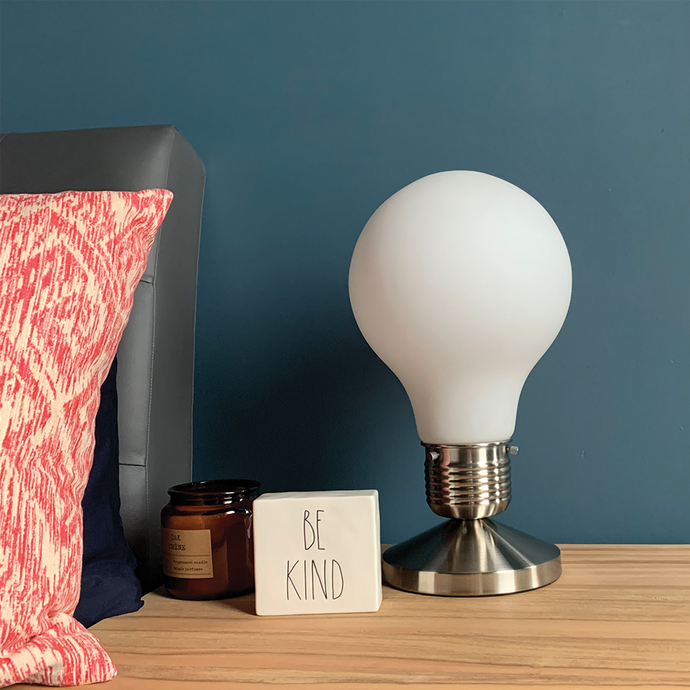 Modern Idea - Lightbulb Shaped Desk Lamp - Modern Idea