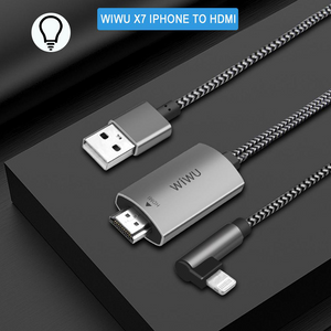 Wiwu - Lightning to HDMI and USB Cable Adapter - Modern Idea